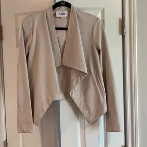 BB Dakota vegan leather jacket. Size medium.